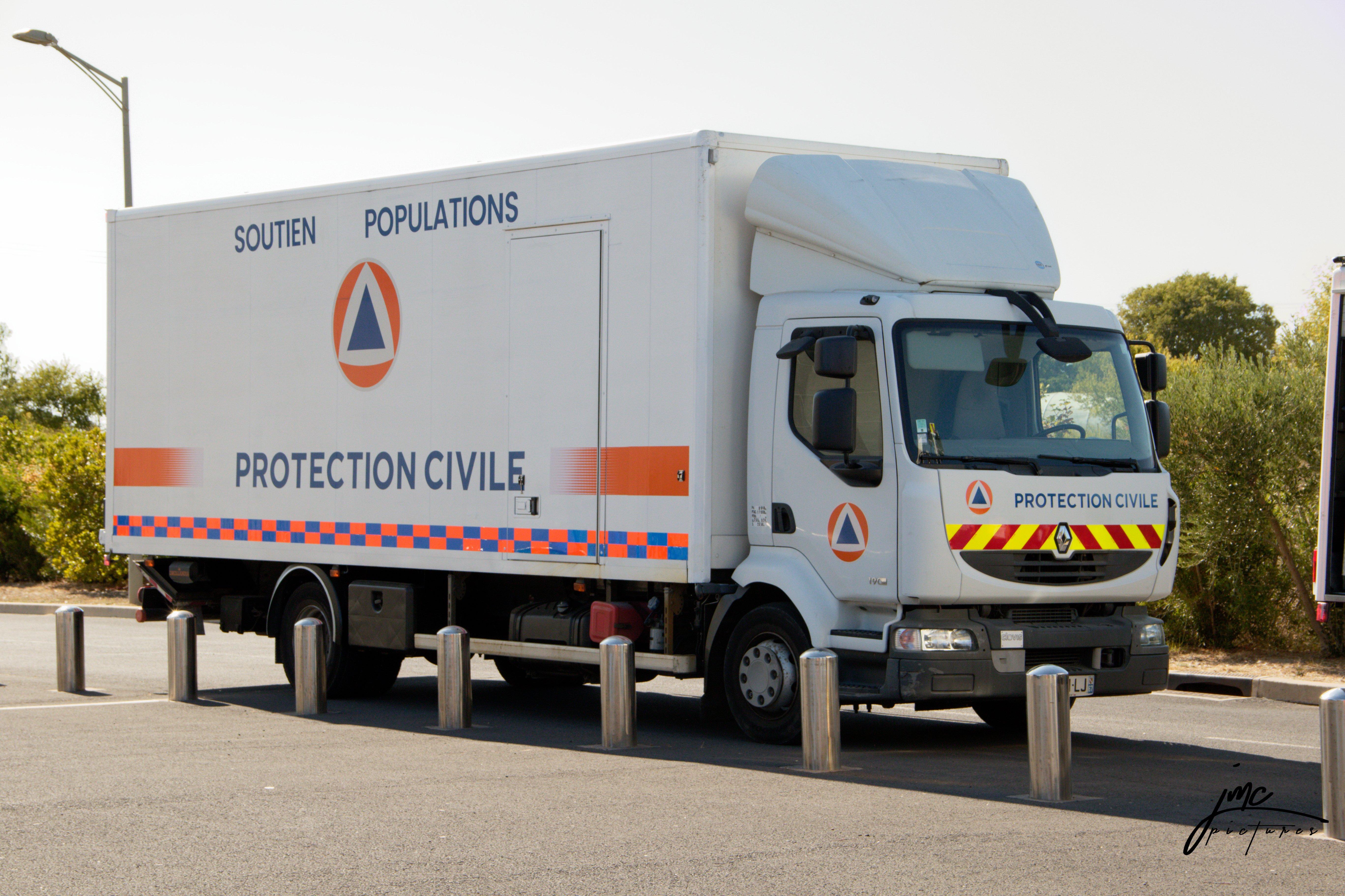 Histoire du logo de la Protection Civile